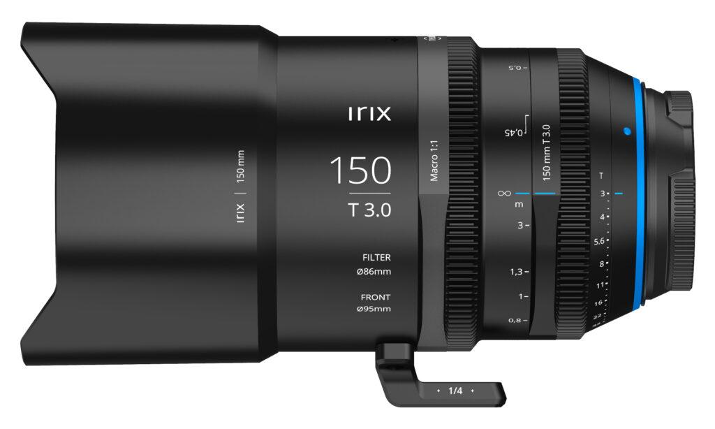 Irix 150mm T3 macro cinema lens